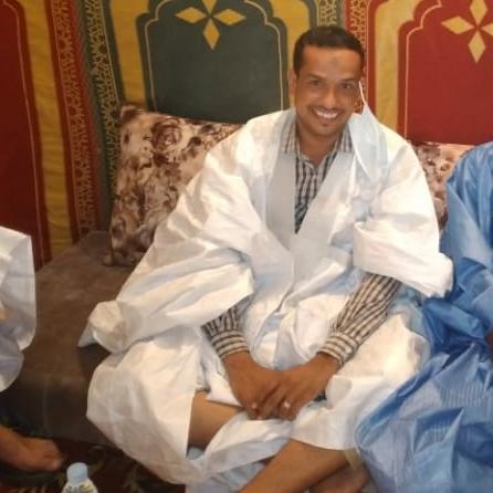 الاستاذ محمدبراهيم سيدمحمد ولد القلاوي