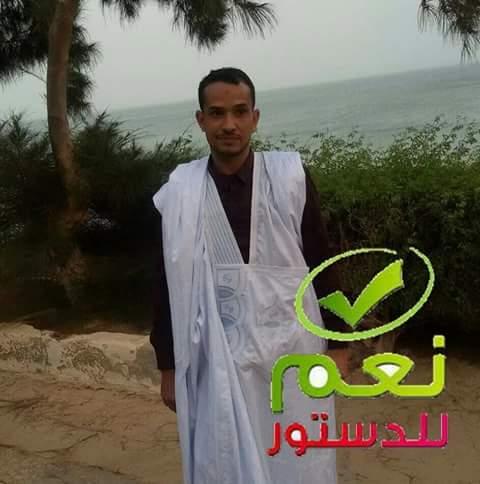 الاستاذ: محمدبراهيم ولد القلاوي